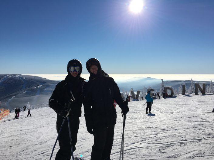 Skitur i Tjekkiet
