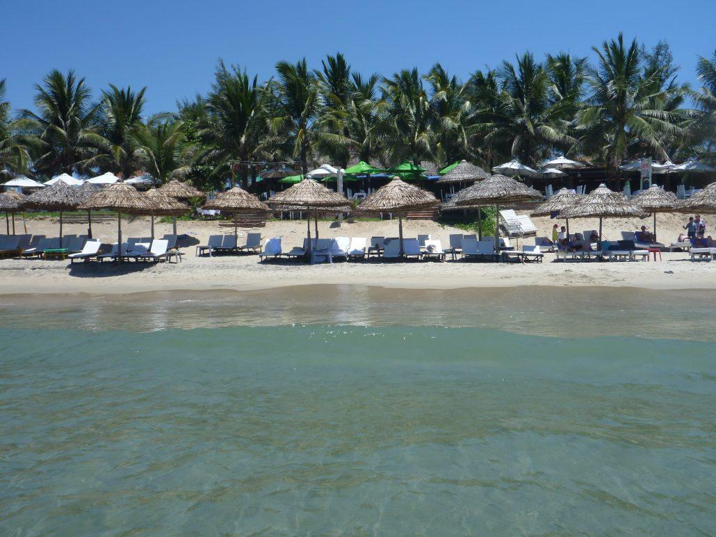 Strand i Vietnam